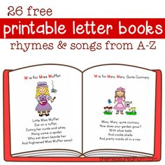 26 free printable letter books from The Measured Mom. Preschool Letters, Free Preschool, Preschool Lessons, Preschool Books, Preschool Ideas, Story Books For Toddlers, Toddler Books, Letter Activities, Kids Learning Activities
