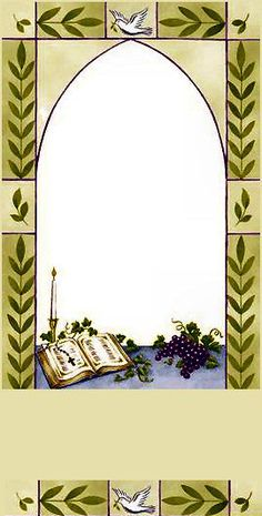 Baptism Favors, Borders And Frames, Boarders, Flower Frame, Christ, Prayers, Projects To Try, Baptisms, Deco