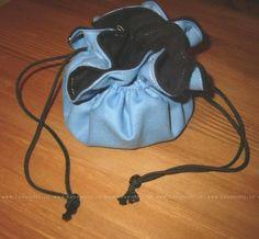 Měšec modrá-černá | Lavennis