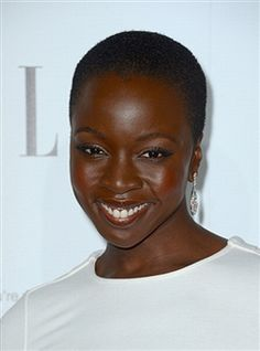 Michonne of the walking dead. How beautiful is she!