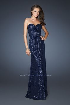 blue sequin bridesmaid dress