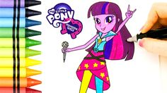My Little Pony Equestria Girls Coloring Book Episode with Twilight Sparkle. We really have a good time making these MLP coloring videos for you! Let us know what you want to see us color next!  The Toy Bunker is a toy review channel featuring fun kids toys like Transformers Shopkins Disney Cars Legos Monster Jam Monster Trucks and My Little Pony. We also love featuring and McDonalds Happy Meal Toys!  Have you seen our Giant Play Doh Surprise Eggs?…