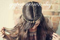 Sincerely, Kinsey: Gypsy Crown DIY