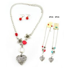 Heart Necklace 1 Dozen Pack, $7.20 (http://www.mywholesalefashion.com/heart-necklace-xnk1108-assorted-colors-unit-price-0-60-1-dozen-pack/)