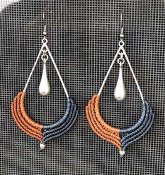 Macrame Rings, Macrame Jewelry, Macrame Bracelets, Love Bracelets, Hippie Style, Hippie Boho, Earrings Handmade, Handmade Jewelry, Evil Eye Ring