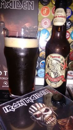 Cerveja Iron Maiden Trooper Red 'N' Black - Robinsons I Like Beer, All Beer, Wine And Beer, Trooper Beer, Iron Maiden Mascot, Beer Types, Premium Beer, Beer Pictures, Beer Brands