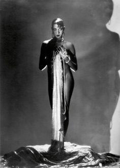 Josephine Baker, 1929  Photographer: George Hoyningen-Huene