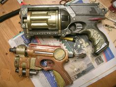 Wow - these look like space pistols (er, I guess the top one is a revolver)