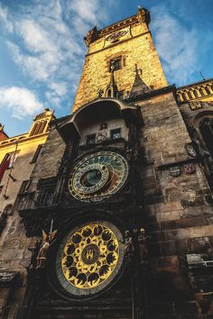 The Prague astronomical clock is the oldest astronomical clock that is still working and displays information such as the relative positions of planetary objects. | Hichem Merabet
