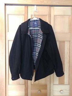 5808adf9 Burberry's Mens Jacket M Wool Alpaca Made In England Vintage Saks 5th  Avenue Med #fashion