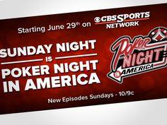 Night Poker será televisado por la CBS Sports Network http://www.allinlatampoker.com/?p=1328