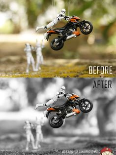 How i do it.. Toys photography trick.