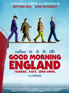 Good Morning England (The Boat that Rocked) de Richard Curtis, le dimanche 10 mars 2013 à 21h au Forum des images !