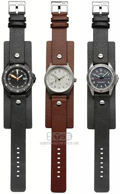 Open Ended Military style watchstrap in 18mm
