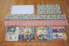 Unbelievably complete tutorial making a child-size little suitcase. This would be a beautiful display-carry case for my craft shows. I'm tempted to tweak it for a tote-purse! Superior photos! Mommy by day Crafter by night: Quilted Suitcase Tutorial