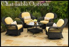 Carolina Casual Outdoor Furniture Inc. is the fastest growing manufacturer of recycled plastic or HDPE (High Density Polyethelyene) casual outdoor furniture. Deck Furniture, Outdoor Furniture Sets, Outdoor Decor, Furniture Ideas, Tiki Room, Tropical Houses, The Hamptons, Hot, Wicker