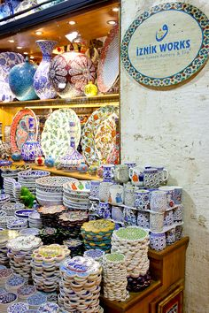 """Food photography """"prop"""" shopping in the Grand Bazaar in Istanbul!"""