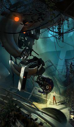 Portal 2- Chell by svargg.deviantart.com on @deviantART