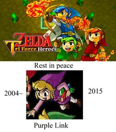 I'll miss you in Triforce Heros friend - #LegendofZelda