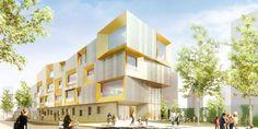 École maternelle & Centre de loisirs + parking souterrain | Brenac & Gonzalez