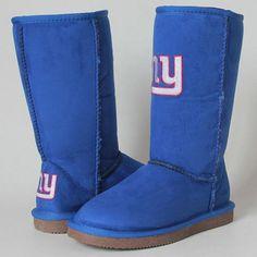 Women's New York Giants Boots