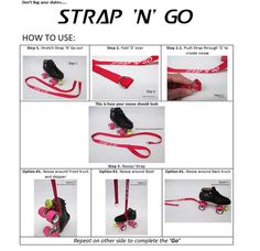 how to use a skate noose