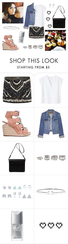 """08/07/17"" by milena-serranista ❤ liked on Polyvore featuring AllSaints, MANGO, Alexander Wang, Acne Studios, Orla Kiely, Forever 21, Wet Seal, Tiffany & Co., Christian Dior and Retrò"