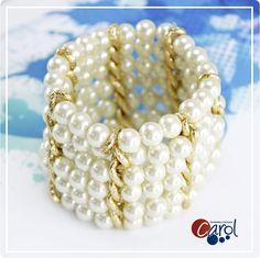 Cadena Dorada + Perlas