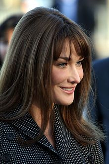 Carla Bruni,[1] now known by her name of use Carla Bruni-Sarkozy (born Carla Gilberta Bruni Tedeschi; Italian pronunciation: [ˈkarla dʒilˈbɛ...