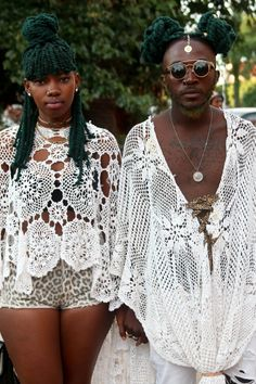 17 times Africans showed how it's done at African Festivals - Eleksie Noir Afro Punk Fashion, Fashion Mode, Fashion Tips, Ck Fashion, My Black Is Beautiful, Black Love, Beautiful People, Soft Grunge, Vestidos Chiffon