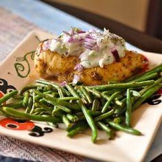 Chicken Gyros with Tzatziki Sauce HealthyAperture.com