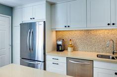 Ikea Kitchen Cabinet around fridge!