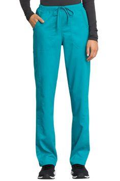 Workwear Revolution Tech, Mid Rise Straight Leg Drawstring Pant With Certainty Cherokee Scrubs, Scrub Pants, Drawstring Pants, Pull On Pants, Workwear, Revolution, Pajama Pants, Stains, Tech