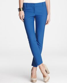 Ann Taylor Chelsie Crops.. I have them in avocado and wild flowers