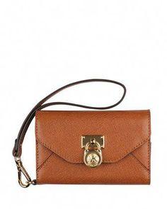 88ad492b2b6d5 Clutch Bag Phone Wallet Case by MICHAEL Michael Kors at Neiman Marcus.   Designerhandbags Michael
