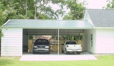 Seven Doubts You Ought to Make clear About Carport With Storage Shed Connected Carport Sheds, Carport Patio, Carport Plans, Carport Garage, Garage Plans, Garage Ideas, Portable Carport, Carport With Storage, Shed Storage