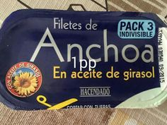 Anchoas en aceite de girasol Hacendado Lunch Box, Stubborn Belly Fat, Crunches, Food Items, Products, Sunflower Oil, Sweet And Saltines, Bento Box