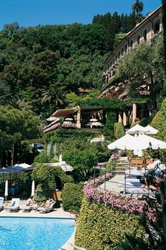 Portofino Hotel, Splendido, Italy The most rarefied place I've ever been. Elegance and sophistication beyond compare.