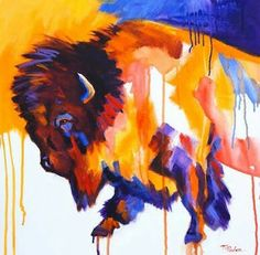Buffalo by theresa paden
