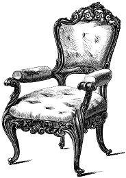 Graphics Fairy Chair