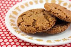 molasses sugar cookies.