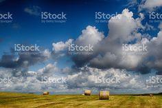 Feld nach Ernte Lizenzfreies stock-foto