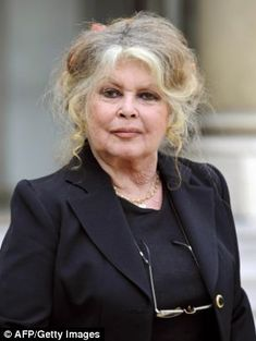 A picture taken on September 27, 2007 shows French film legend and animal rights activist Brigitte Bardot