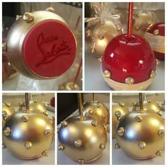 Wow Louboutin candy apples!!