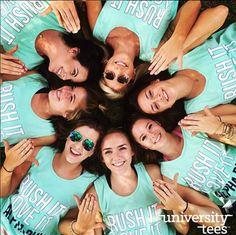 Rush it. Love it. | Alpha Phi | Made by University Tees | www.universitytees.com