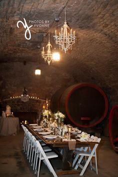 http://photosbyyvonne.net/ Photos by Yvonne: Toledo OH Wedding Photographer, vintage wedding decor at Mon Ami Winery in the Wine Cellar