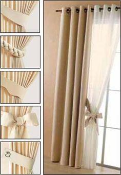 r sultat de recherche d 39 images pour les mod les des nouveaux rideaux avec leur patrons rideaux. Black Bedroom Furniture Sets. Home Design Ideas