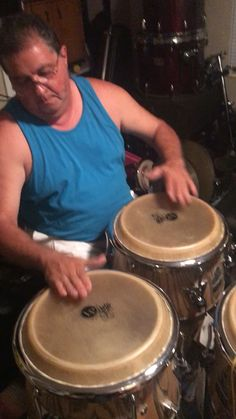 Playing my Palladiums Percussion Drums, Drum Room, Afro Cuban, Music Instruments, Congas, Musical Instruments