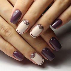 Brilliant Nails, Crescent Nails, Long Nails, Nail Trends Feather Nails 20 … - Most Trending Nail Art Designs in 2018 Nail Designs 2017, Best Nail Art Designs, Short Nail Designs, Nail Art Design Gallery, Modern Nails, Colorful Nails, Luxury Nails, Elegant Nails, Nagel Gel