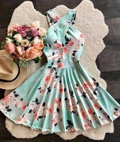 Cute Prom Dresses, Pretty Dresses, Homecoming Dresses, Beautiful Dresses, Short Dresses, Summer Dresses, Summer Fashion Outfits, Cute Fashion, Fashion Dresses